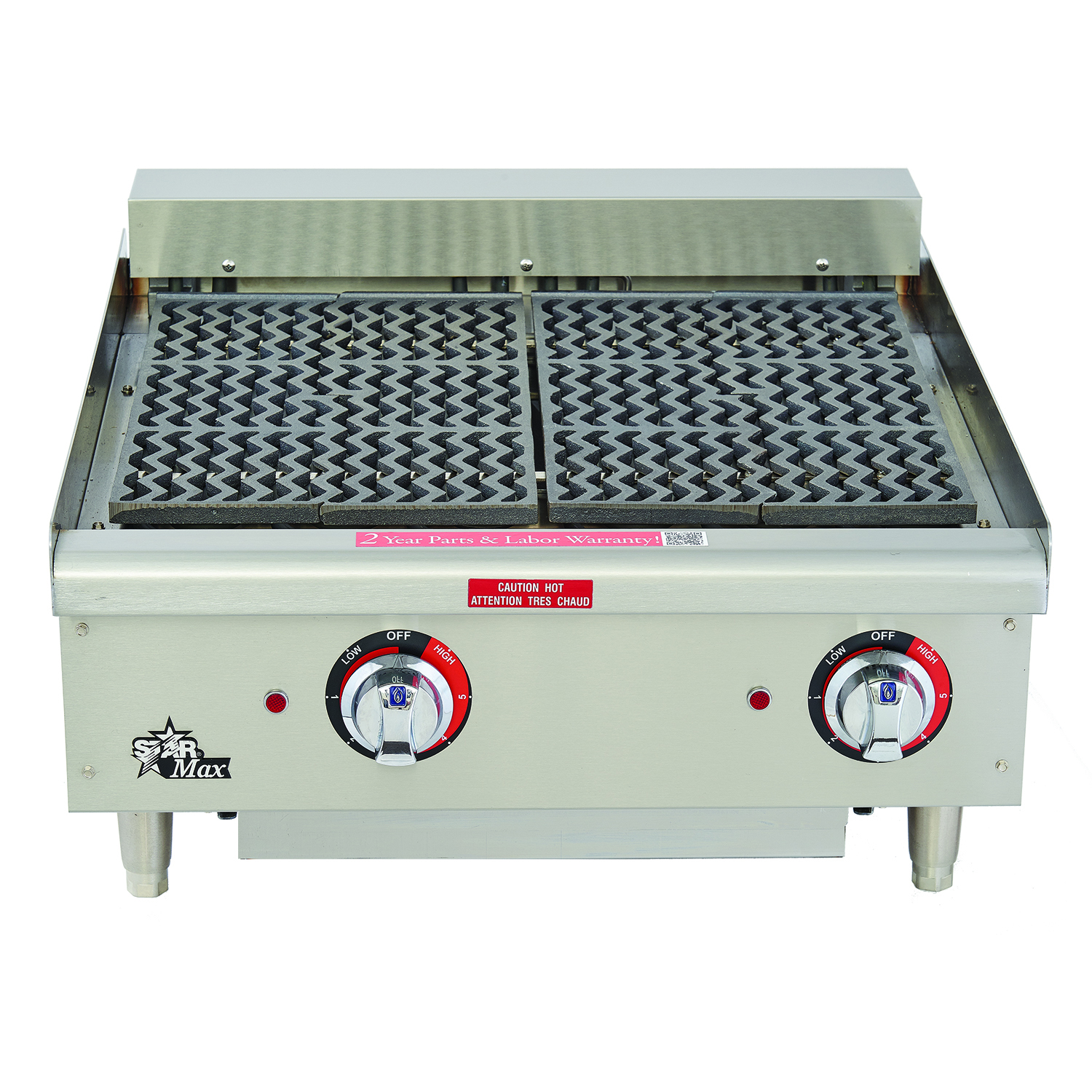 Star-Max® Radiant Electric Charbroilers | Star Manufacturing
