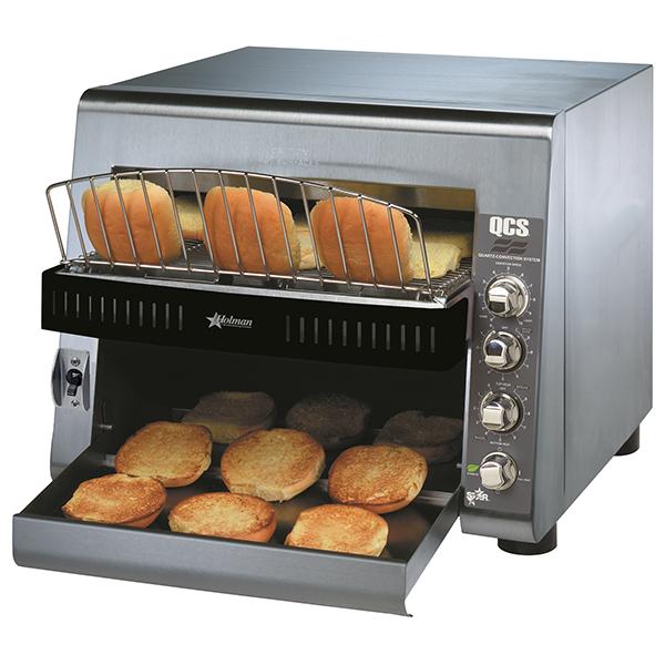 High Volume Toaster ~ Star qcs bh specialty conveyor toaster