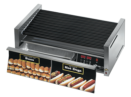 Grills  Star Grill-Max® Roller Grills with Electronic Controls and Built-In ...