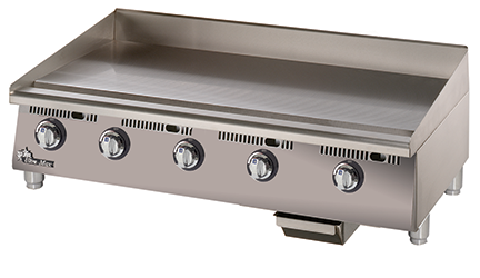 ultra max gas griddles with manual controls star manufacturing