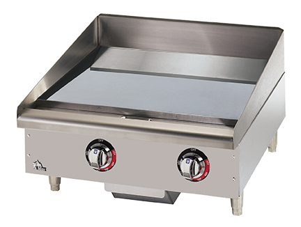 Star-Max Gas Griddle – Embedded Electric Snap-Action Thermostat