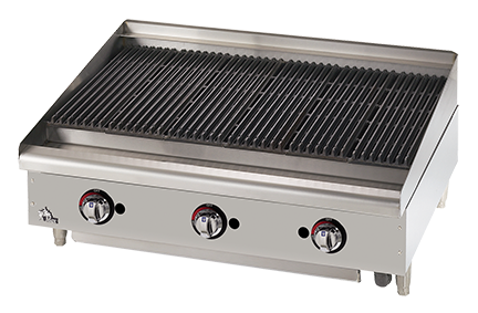 Heavy Duty Ultra-Max® Radiant & Lava Rock Gas Charbroilers